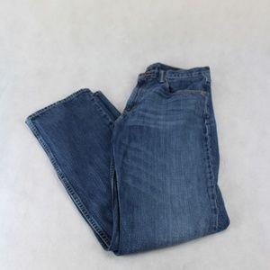 Banana Republic Med Wash Straight Leg Jeans